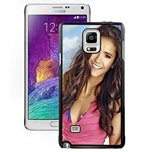Beautiful Custom Designed Cover Case For Samsung Galaxy Note 4 N910A N910T N910P N910V N910R4 With Nina Dobrev Long Hair Phone Case