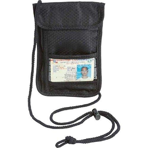 Secret Security Neck Strap Bag Hidden Passport Case Travel Wallet Money Holder by ZIZI SPORTS SUPPLY (Image #2)
