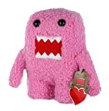 "Domo Valentine's Plush 6"" Pink"