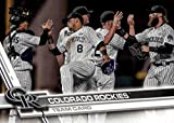Colorado Rockies 2017 Topps Complete Mint Hand Collated Team Set with Carlos Gonzalez and Trevor Story Plus