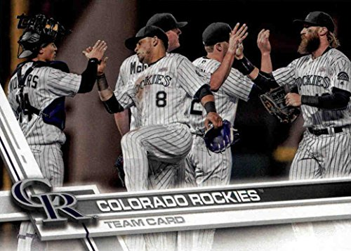 Colorado Rockies Collectibles (Colorado Rockies 2017 Topps Complete Mint Hand Collated Team Set with Carlos Gonzalez and Trevor Story Plus)