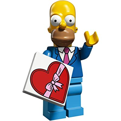 LEGO The Simpsons Series 2 Collectible Minifigure 71009 - Homer Simpson (Best Suit and Tie): Toys & Games