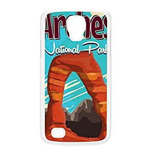 Arches nation park White Hard Plastic Case for Galaxy S4 Active by Nick Greenaway + FREE Crystal Clear Screen Protector