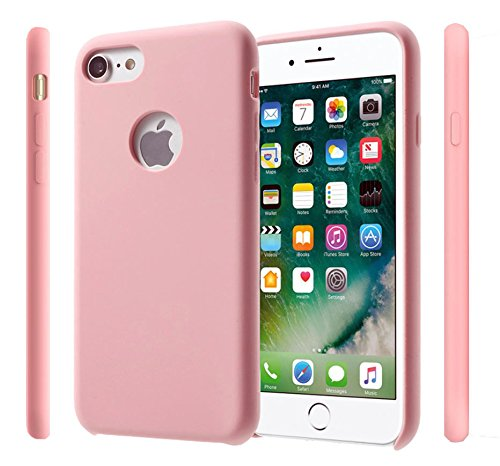 Iphone 6/6s Candy Matte Case / Liquid Silicone Rubber Case for Apple / Silicone Case For Apple Phone (Baby Pink Iphone 4 Case)