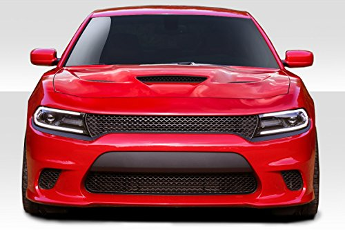 Duraflex ED-MBJ-846 Hellcat Look Front Bumper - 1 Piece Body Kit - Compatible For Dodge Charger -