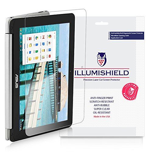 iLLumiShield Clear Screen Protector for Asus Chromebook Flip [2-Pack]