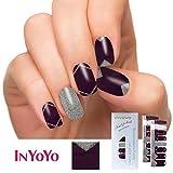 IN YOYO H-234 Wholesale 16 Tips 100% Real Polish Nails Art Full Cover Nail Polish Stickers UV Gel Polish Strip Women Gift (1 Sheet/16pcs)
