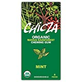 Chicza: Organic Rainforest Chewing Gum - 10 Packs (80 pieces) - Mint