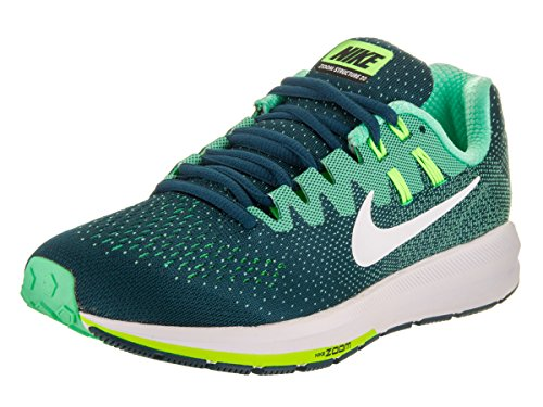20 White Structure Green Running Turquoise Shoe Glow Nike Air Women's Ghost Midnight Zoom Green qn6TtOI