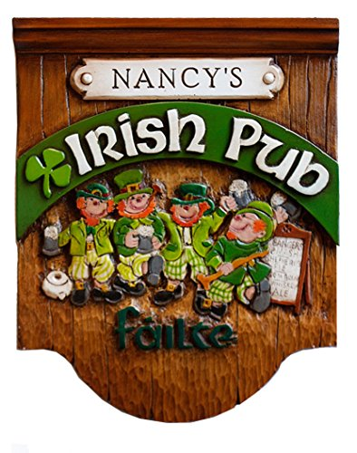 Irish Pub Personalized Sign by Artist Al Pisano