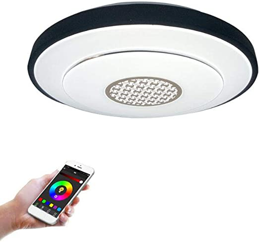 OOFAY LIGHT Luz de Techo LED, Smartphone aplicación Regulable, RGB ...