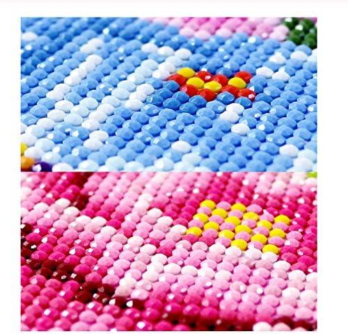 Diamant Geborduurd Paard 5D Cross Stitch Diamant Schilderij Landschap Strass Volledige Vierkante Diamant Mozaïek Dieren Set 30x45cm