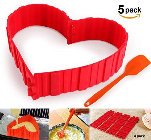 silicon cake spatula - 8