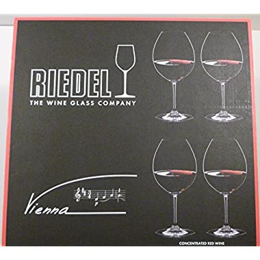 Riedel Vienna Concentrated Red Wine Glass 4 Pieces #1179/0-1