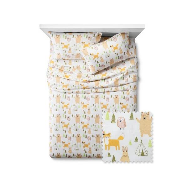 Woodland-Whimsy-Sheet-Set-Pillowfort-Twin