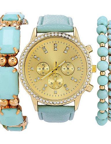sbsghdx® mujeres joyas relojes de pulsera maduro Luxus Marca cuarzo reloj de pulsera Relojes