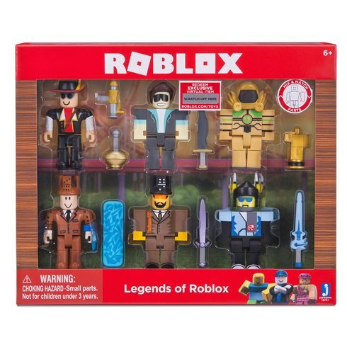 Roblox - LEGEND of ROBLOX 6 Pack Series 2 - This Set