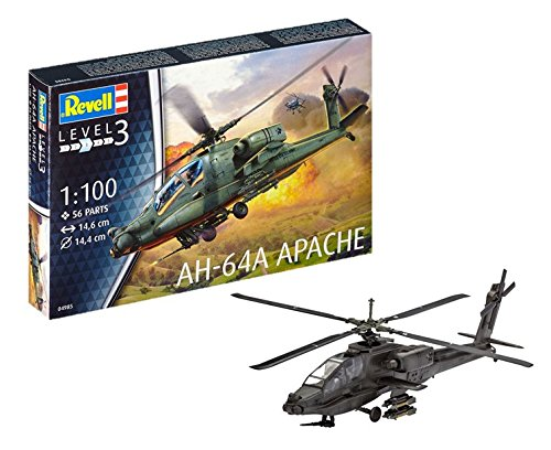 Revell Germany Apache 100 Helicopter Model Kit Model Kit - Apache Model Kit