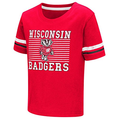 Boys' University of Wisconsin Badgers Toddler Graphic T-Shirt (4T)