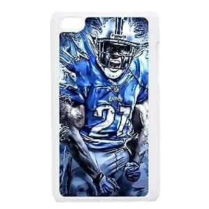 Detroit Lions iPod Touch 4 Case White 218y3-151069