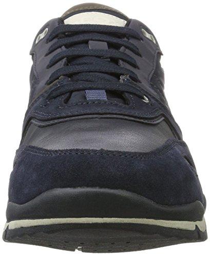 Hombre ABX Zapatillas para Navy Grey B Geox Dark A Sandford U Azul 0pnq1wgZ