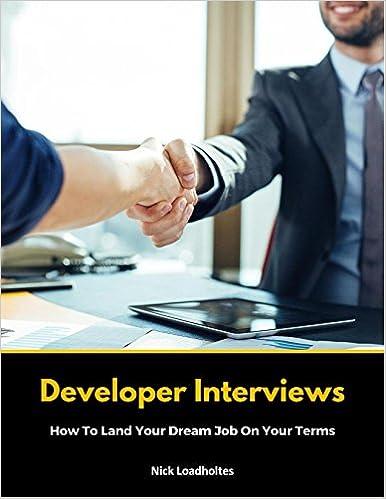 Developer Interviews cover