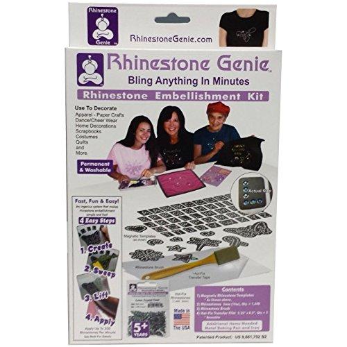 Rhinestone Embellishment Kit Rhinestone Genie