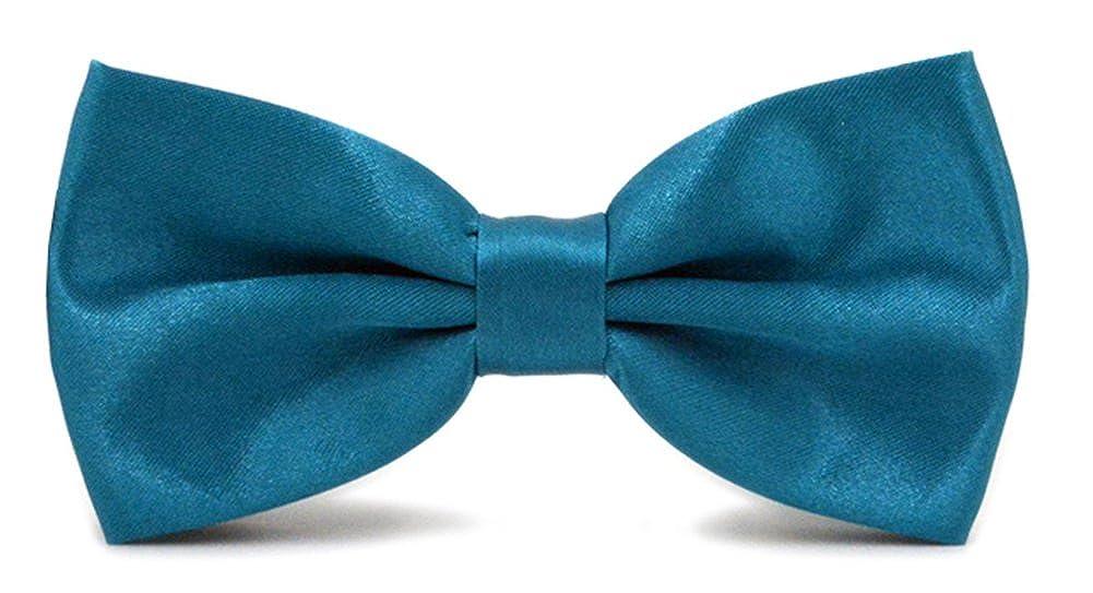 Mens Pre-tied Adjustable Formal Bow Tie Tuxedo Solid Bowtie by Avant Men
