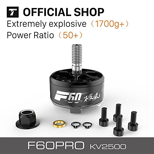 T-motor Latest Upgraded FPV Motor F60pro KV2500 For Racing Quadcopter by T-Motor
