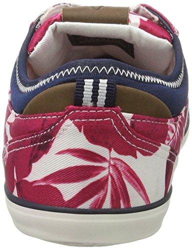 Gaastra Trip Flower - Zapatillas de casa Mujer Mehrfarbig (Fuchsia Multi)