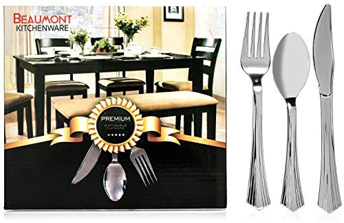 Beaumont Kitchenware Plastic Silverware Construction product image
