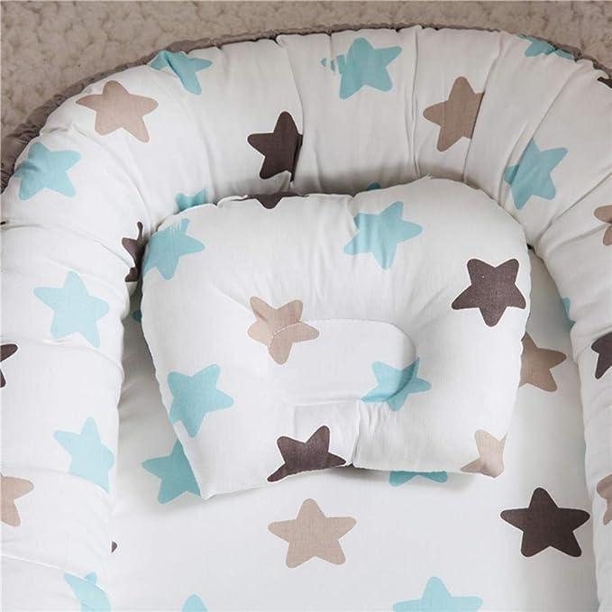 LYHONG Almohada antivuelco para bebés Cojín de protección ...