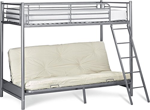 best cheap 00287 c6db4 Tesco NEW Mika Single High Sleeper with Small Double Futon ...