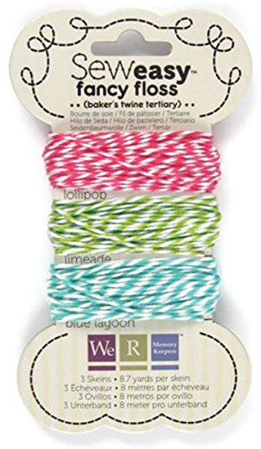 We R Memory Keepers Sew Easy Baker's Twine for Paper Crafting, Tertiary