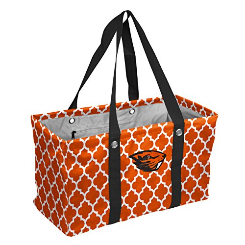Logo Brands Collegiate Large Collapsible Picnic Tote Oregon State Beavers, Orange, One Size ()