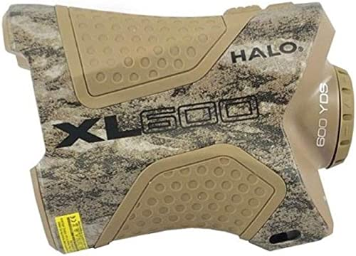 Halo Optics XL600 Series 6X 600 Yd. Hunting Laser Range Finder, Bottomlands Camo