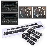 GZYF Auto Car Radio AC Dash Button Repair Kit
