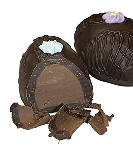Philadelphia Candies French Mint Meltaway Easter Egg, Dark Chocolate 8