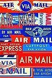 Par Avion Postcard set in Keepsake Tin by Cavallini