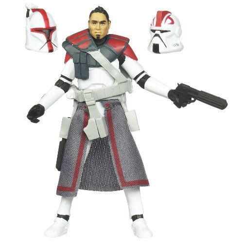 Star Wars 3.75 Vintage Figure ARC Trooper Commander (Star Wars Clone Wars Arc Trooper Battle Pack)