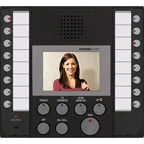 Master Station Audio (Aiphone AX-8MV Audio/Video Master Station for AX Series Integrated Audio & Video Security System)