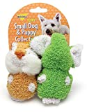 Booda Corporation (Aspen) DAP53485 2-Pack Terry Elephant/Chipmunk Pet Toy
