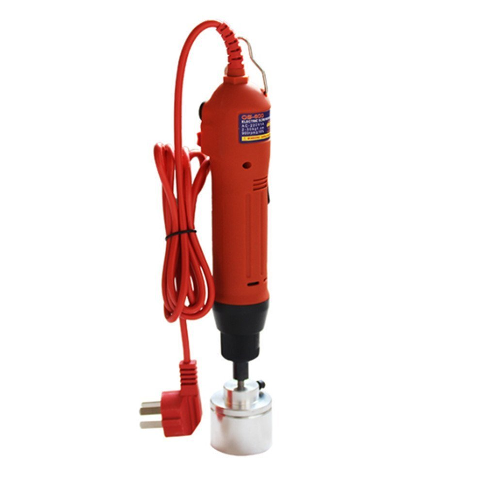 10-50mm New Manual Electric Screw Capper Plastic Bottle Capping Machine 220V by cjc