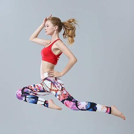 cf7a4b92fb Pinjeer Stampa a trasferimento Termico Set di Abbigliamento per Yoga ...