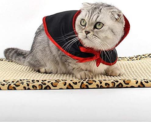 TOOGOO Bufanda de Disfraz de Halloween para Mantener Calido Capa de Mascota superhombre Capa pequena de Perro Gato