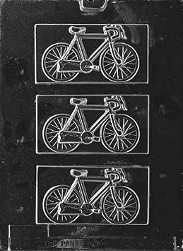 Bicicleta Chocolate molde – K038 – incluye instrucciones de fusión ...