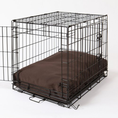 Crate Covers and More RECDOGDARK36  Rectangular Dog Bed Set, Dark Chocolate, My Pet Supplies