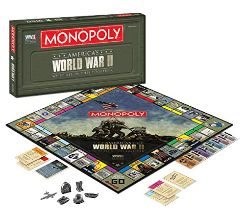 Monopoly World War II We Are All In This Together Board Game ()