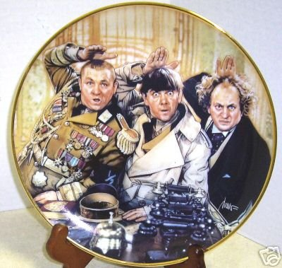 The Three Stooges Plate - Franklin Mint Collector's Plates 1993 ()
