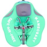 Preself Baby Solid Float Ring 2 Infant Toddler Safety Aquatics Swim Floating Swimming Pool School Training (Green)